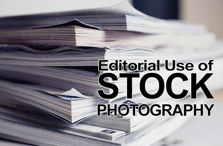 Editorial Use of Stock Photography