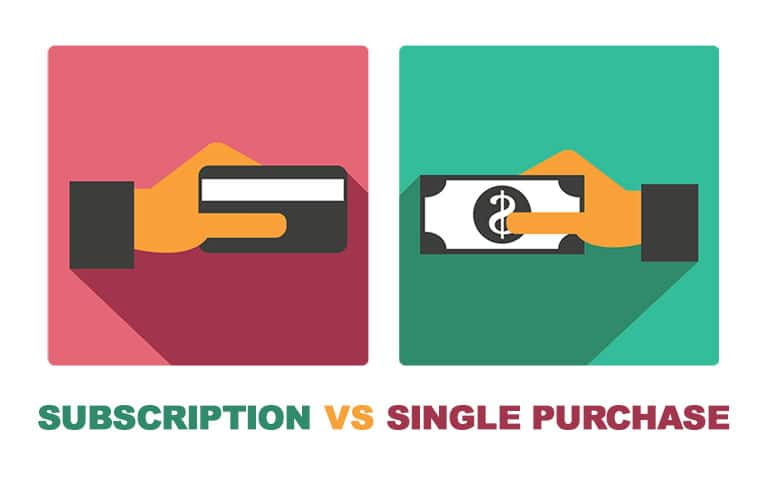 Stock Photo Subscription vs. Single Image Purchasing