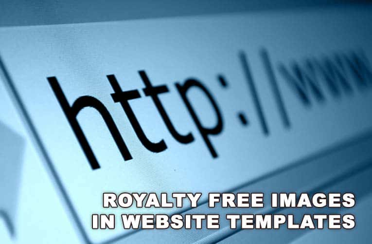Using Royalty Free Stock Images In Website Templates