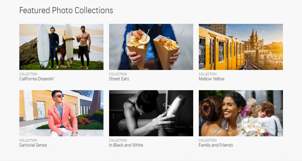 Shutterstock Photography Featured Collections